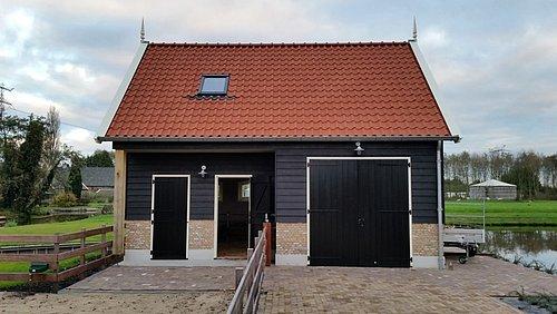 Nieuwbouw stal met schuur - Timmerbedrijf Jaap Mourik